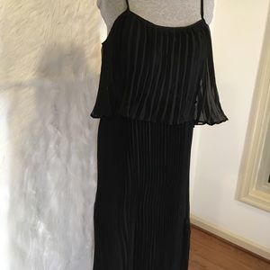 Romeo and Juliet maxi black dress size medium